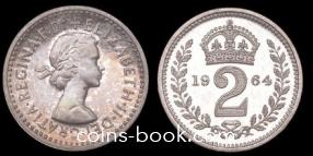 2 пенса 1964