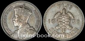 6 пенсов 1936