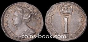 1 пенни 1703