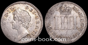 4 пенса 1686