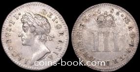3 пенса 1686