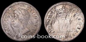 2 пенса 1686
