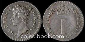1 пенни 1686