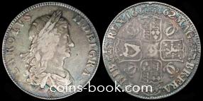 1 крона 1662