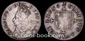 4 пенса 1660