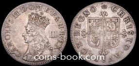 3 пенса 1660
