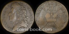 1 шиллинг 1689