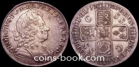 1 крона 1723