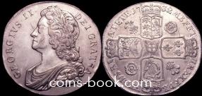 1 крона 1732