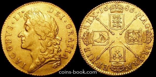 1 гинея 1686