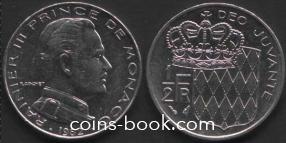 1/2 франка 1982
