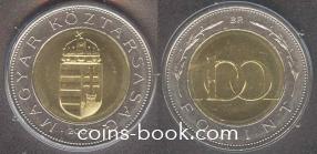 100 форинтов 2007
